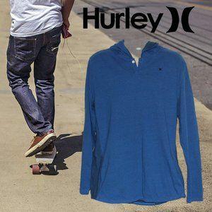 Hurley Mens Long-Sleeve Pullover Hooded Sweatshirt